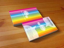 Think ideas Business Card by Lemongraphic