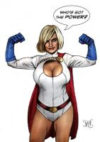 Power Girl by Spears by markman777