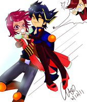 Take Her Away, Yusei by iheartebil