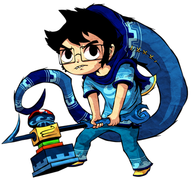 John Egbert - Windwaker Style by Aviarei