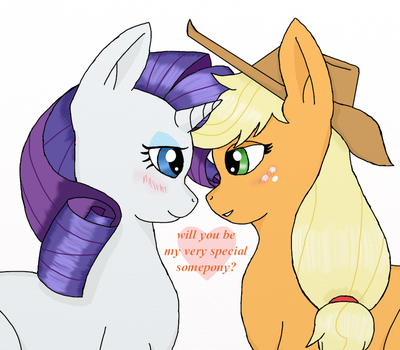 RariJack: My Special Somepony by gambler83