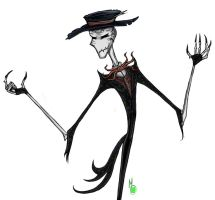 Splendorman - Tim Burton style by Green-Nightingale