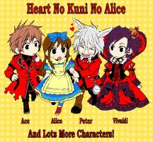 Heart No Kuni No Alice by Tandokuno-Tenshi