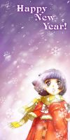 New Year Snow 2009 by yuumei