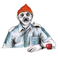 The Life Aquatic Steve Zissou by burntfeather