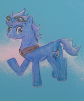 MLP and Tenkai Knights: Ceylan Ponified by Tigerett