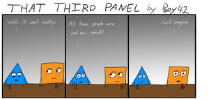 That Third Panel - More Friends #23 by Roy4242