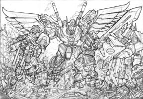 DW Predaking litho pencils by GuidoGuidi