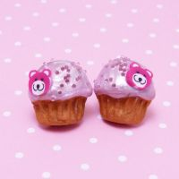 Small muffins with teddybears by lemon-lovely