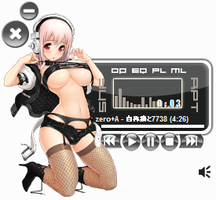 Super Soniko Girl 2 Winamp by Kaza-SOU