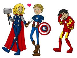 Avengers Awwww Yeah by Naomimon-Alpha