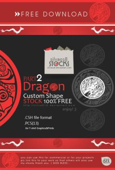 Dragon Custom Shape Part2 by silva018