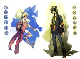 Pokemon Trainer Concepts
