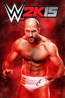 WWE2K15 Poster - Cesaro by BooDyGFX