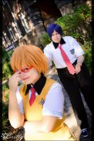 Free! Iwatobi Swim Club Rei Nagisa - Glasses by SharyNyanko