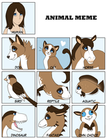 Animal meme by Chuuwiii