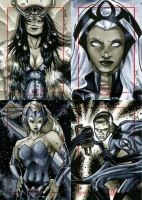 Marvel 70th Sketch Cards -x by RichardCox