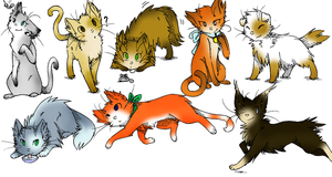 meow more free adopts by MooncloudKitty