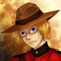 Familiar FACE: Mountie Canada, Memories of Hetalia by HeroicPlights