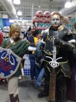 Link and Ganondorf - Anime Boston 2014 by DantesTobari