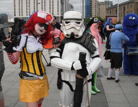 Mc Harley meets stormtrooper by ayumimysterio