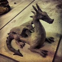 Clay Dragon by TheSEB93