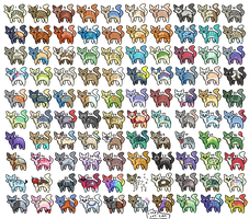 100 Cat Adopts  5/100 open by Zulite