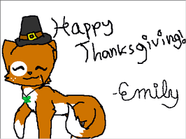 Happy Thanksgiving~ by Emmie-Kat