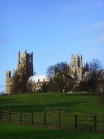 November 2009 - Ely Cathedral by Jakari