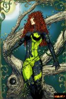 Poison Ivy color by Mich974