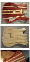Fender Thinline by Fusillade-Design