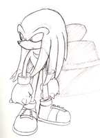 Knuckles sketch by adamis