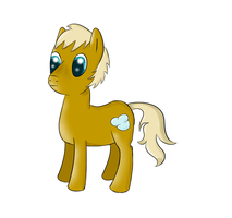 Generic idle male MLP-pony by Zhooves