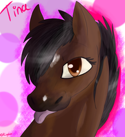 Tina [Gift for my mother] by AnimHAW