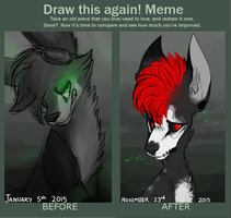 draw this again meme by SpookyDoge