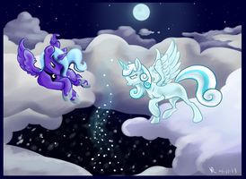 A Stormy Winter Night by Insanity-wolf