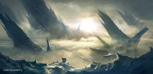 Lost Planet 3 vista by emanshiu