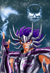Cancer No Deathmask by Niiii-Link