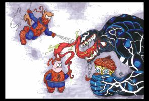 Spidey's Holiday Replacements by Tilllemann