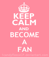 Free Become A Fan Logo by powerpuffDanielle