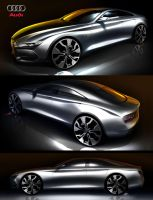 2014 Audi A5 4 door by: Tony Chen by TonyWcK