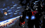 Optimus Prime Pixelart by Sonimul