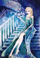 Beautiful Elsa by AnALIBI