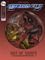 Reynard City : Issue 23 Front Cover by littlesusie2006