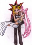 REQUEST: Yami and Lady Serenity by SailorMoonAndSonicX