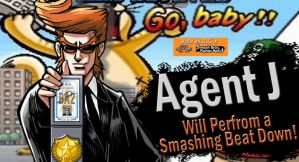 VOTE Agent J for SSB4 DLC by Elemental-Aura