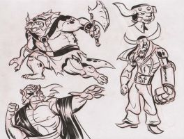 Thundercats doodles 4 by dfridolfs
