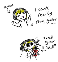 Pewdie Can't Play Guitar by 8DragonTooth8