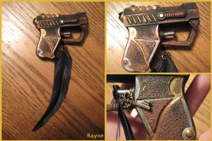 Steampunk gun by zigidity