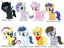 Mlp Next Gen Adoptable's  by Galactic-Cosmo